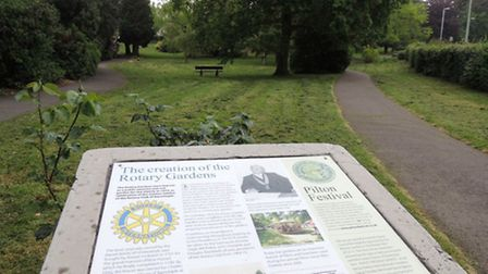 The ceremony will be held at the Rotary Gardens in Pilton today (Friday).