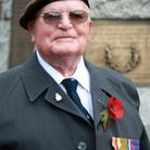 The victim's late father earned his medals serving in North Africa and the Middle East between 1945