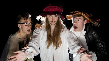 Drake's Drummers Theatre Company bring Shakespeares Avengers Assembleth: Age of Oberon to Barnstaple