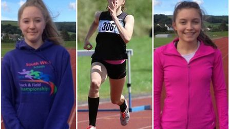 Caitlin Gallagher, Megan Gallagher and Isabel Wakefield represented North Devon the English Schools?
