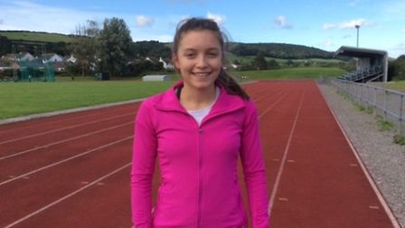 Isabel Wakefield came third in the under 17 women's long jump at the English Schools' Athletics Cham