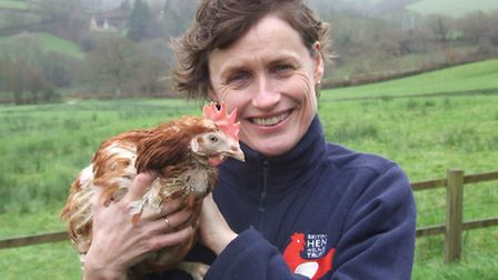 Charity founder Jane Howorth hopes someone will rehome their 500,000th hen.