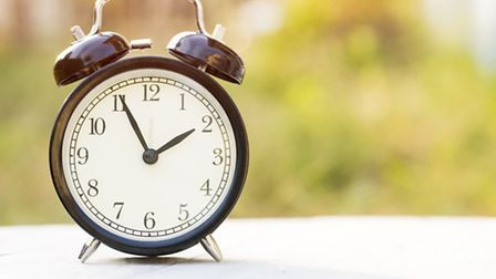Don't forget the clocks go back this weekend.