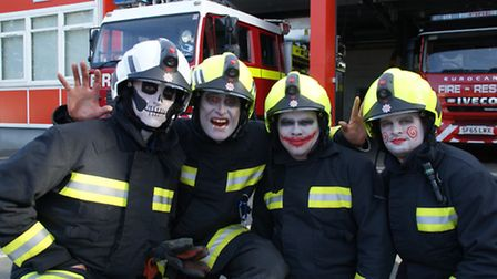 Bideford fire fighters invite you to join them in their Freaky Fire House this Halloween.