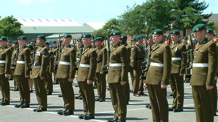 Troops will be leaving RMB Chivenor by 2027.