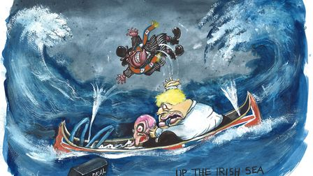 The UK has struggled to find a solution to the Irish backstop issue. Picture: The New European