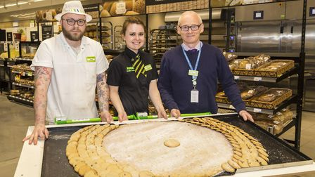 Is This Gigantic Cookie By Asda Barnstaple The World S Biggest Easter Biscuit North Devon Gazette