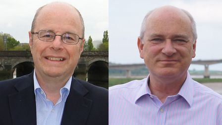 Peter Heaton-Jones and Sir Nick Harvey will be going head to head again to contest North Devon in th