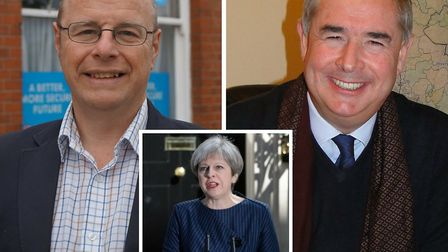 Peter Heaton-Jones and Geoffrey Cox have backed the Prime Minister's call for an election.