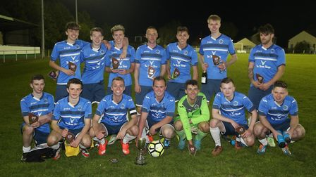 Ilfracombe Town Thirds were the winners of the Arlington Cup on Saturday. Picture: Rob Bates