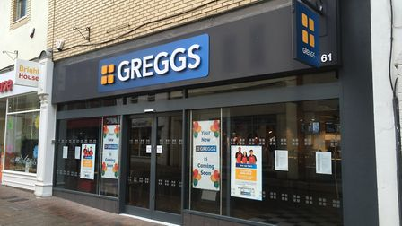 Greggs in Barnstaple is set to open this month.