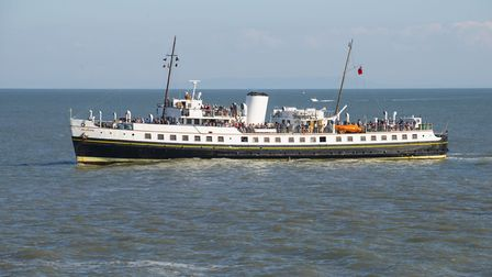 The MV Balmoral will sail into Ilfracombe again this May. Picture: Andrew Pope