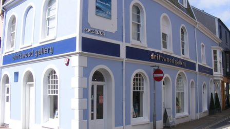The Driftwood Gallery at St James Place in Ilfracombe