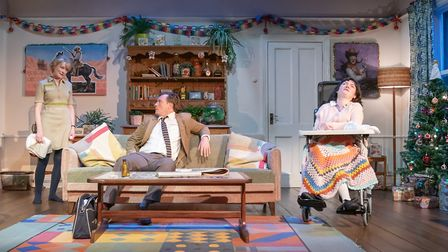 A scene from the play A Day in the Death of Joe Egg. Picture: Marc Brenner