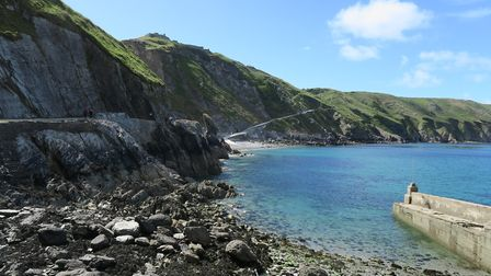 Gazette reporter Sarah Howells picked a glorious day to visit Lundy last week. Picture: Sarah Howell
