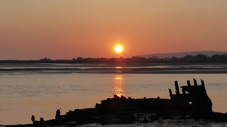 Daniel Pudney, from Barnstaple, captured a perfect sunset at Fremington Quay. Picture: Daniel Pudn