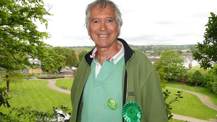 North Devon Green Party candidate Ricky Knight