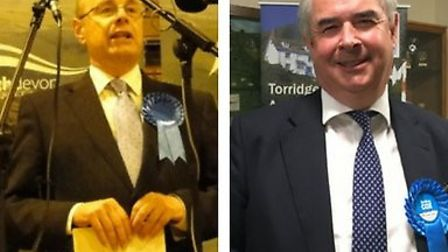 Peter Heaton-Jones and Geoffrey Cox have retained their Conservative seats.