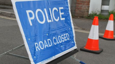 The road is currently closed.