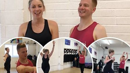 Gazette reporter Sarah Howells got on the dancefloor to learn some moves with Anthony Sawlbury from