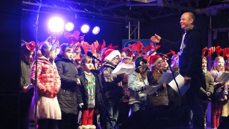 Bideford Christmas Light Switch On 2016. Picture: Sarah Howells