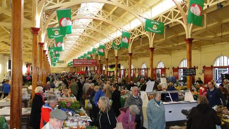 Barnstaple Pannier Market will be looking its festive best this Christmas.