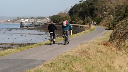 The Tarka Trail along the River Torridge.