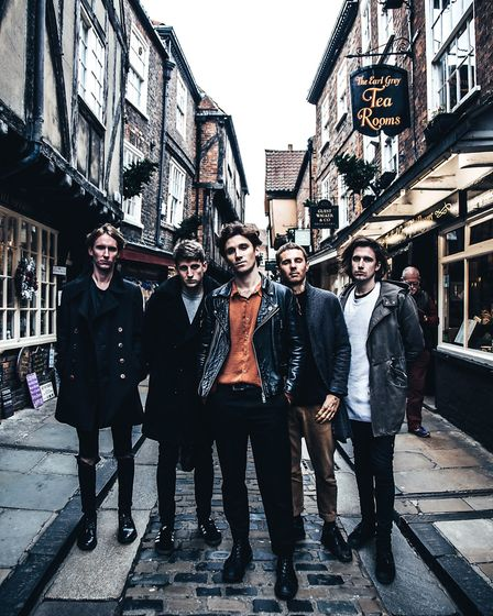 Rock band Coasts will be the supporting headliners at Oceanfest18