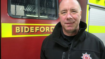 Neil Blackburn is retiring after 31 years with Devon and Somerset Fire and Rescue Service this week.
