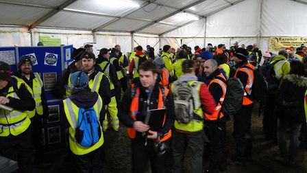 Hundreds of walkers and volunteers take part in StarTrek Organisers felt the weather forecast was ju