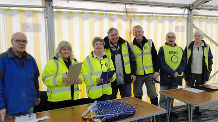 Ilfracombe Rotarians including StarTrek chairman Paul Williams. Picture: Tony Gussin