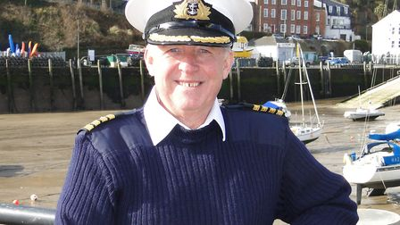 Ilfracombe harbour master Rob Lawson retires in March. Picture: Tony Gussin
