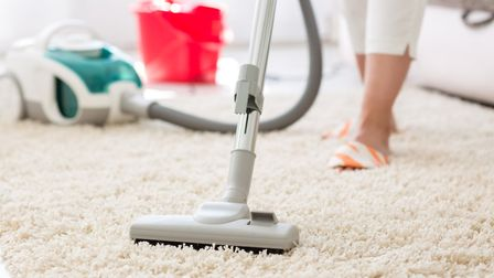 Remember to vaccum the less-trafficked routes when spring cleaning. Picture: Getty Images/iStockphot