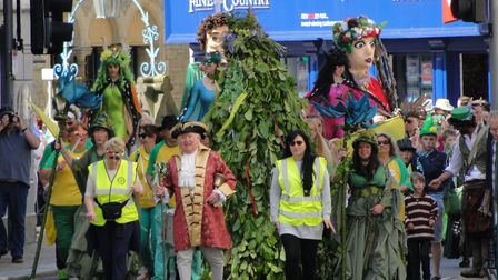 Ilfracombe Jack-in-the-Green May Day celebrations 2018. Picture: Tony Gussin