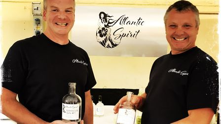 Master distiller Quinton Davies and award winning brewer Simon Lacey are launching their brand new A