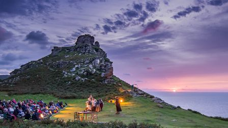 Enjoy open air performances of King Lear at Valley of Rocks in Lynton this summer. Picture: John Spu