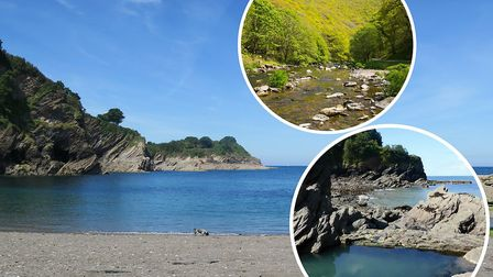 Check out these great North Devon wild swimming spots this weekend.