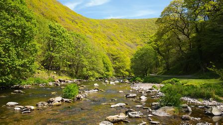 River Lyn near Lynmouth Devon on walk to Watersmeet. Picture: Getty Images/iStockphoto