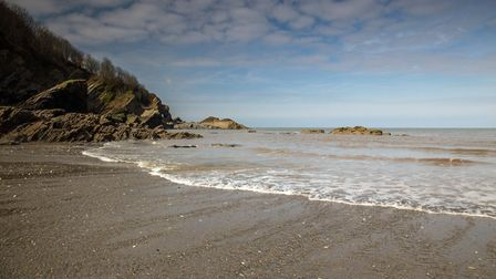 Hele Bay, near Ilfracombe in North Devon. Picture: Getty Images/iStockphoto