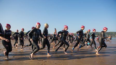 Croyde Ocean Triathlon 2018. Picture: howaboutdave photography