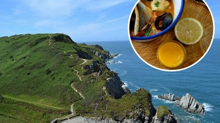 Dine al fresco with Seadog at the stunning Bennetts Mouth near Mortehoe on Sunday, July 15.