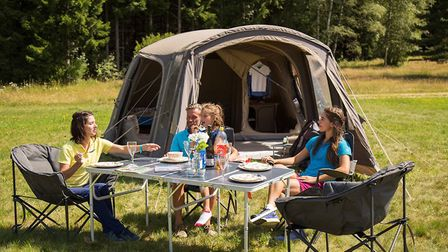 Grab some camping gear and enjoy the great outdoors! Picture: Vango