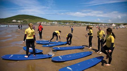 YOUNGSTERS are invited to try surfing for the first time with the Toedipper sessions at the GoldCoas
