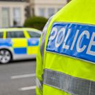 Police have arrested a man following a collision in Sidmouth.