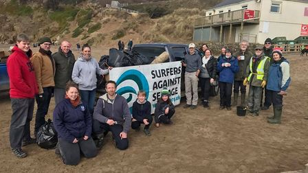 You could join in one of the beach and river cleans this October half term. Picture: Plastic Free No