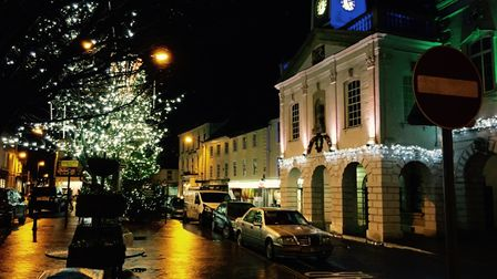 The magical South Molton Christmas lights switch on is a huge event in the town calendar. Picture: S