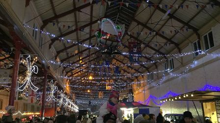 There is a huge amount to see and do in the Pannier Market as South Molton prepares to start its Chr