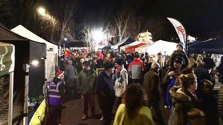 Colour, spectacle, food and much more at North Devon Christmas Market 2018 in Braunton. Picture: Gin