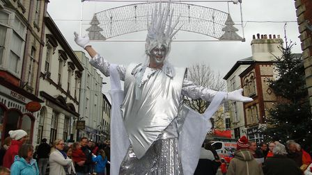 'Star' from Higher Beings at Torrington's Christmas 'Who-billation' on Saturday. Picture: Sarah Howe