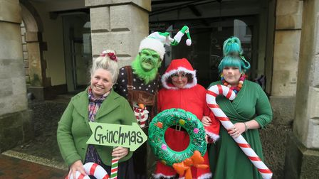 Torrington will be celebrating a merry 'Grinchmas' this Christmas.